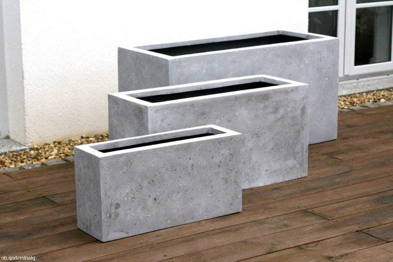 charmant pflanzk bel beton selber machen bilder die kinderzimmer design ideen. Black Bedroom Furniture Sets. Home Design Ideas