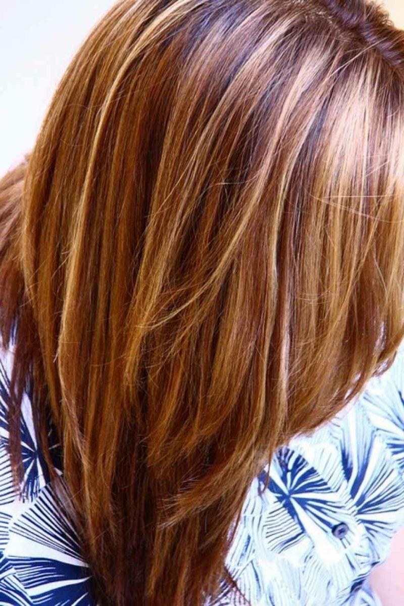Haarfarbe Caramel