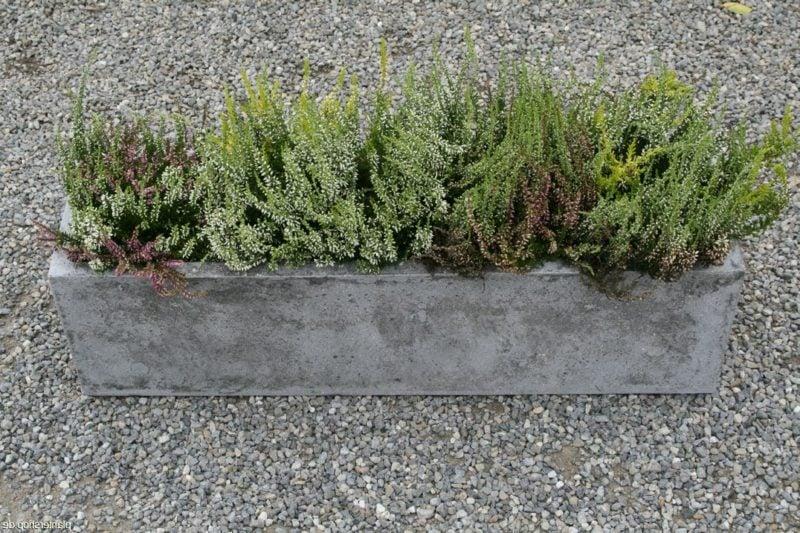 Beton Blumenkasten