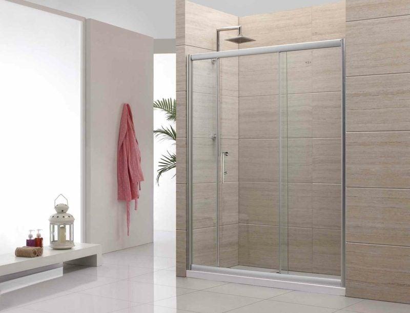 Dusche gemauert ohne glas  Gemauerte Dusche als Blickfang im Badezimmer: Vor- und Nachteile