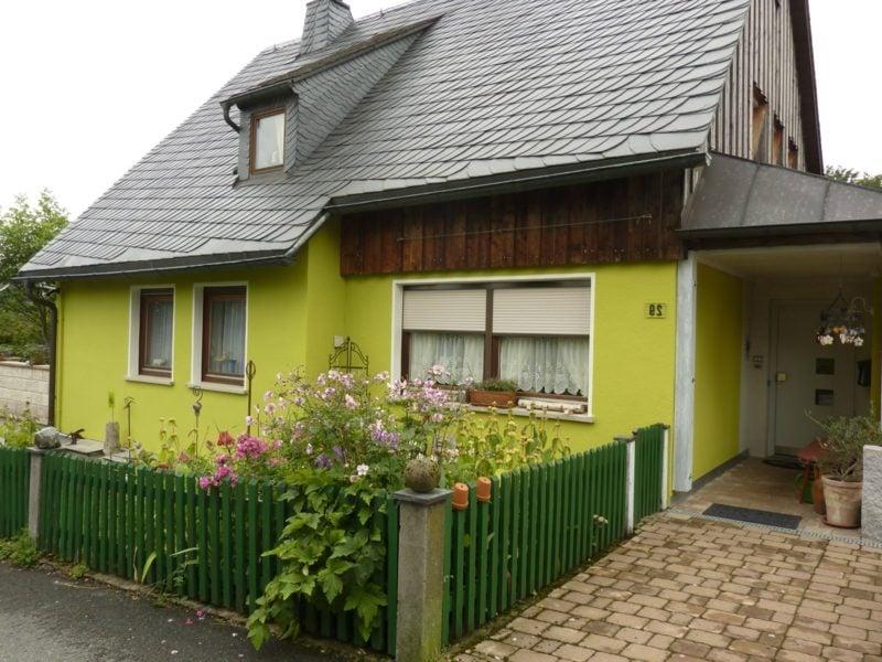 moderne Hausfassade