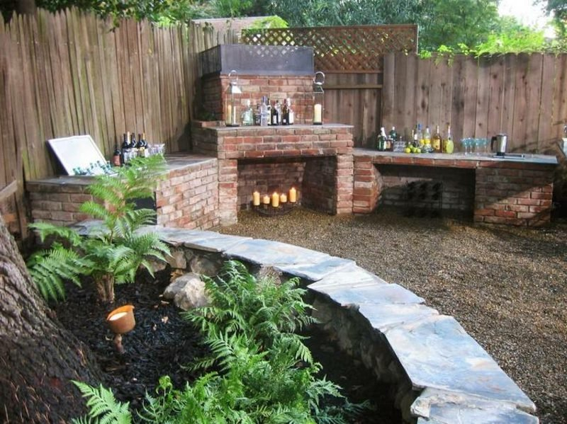 Gartengrill Gestaltungsideen
