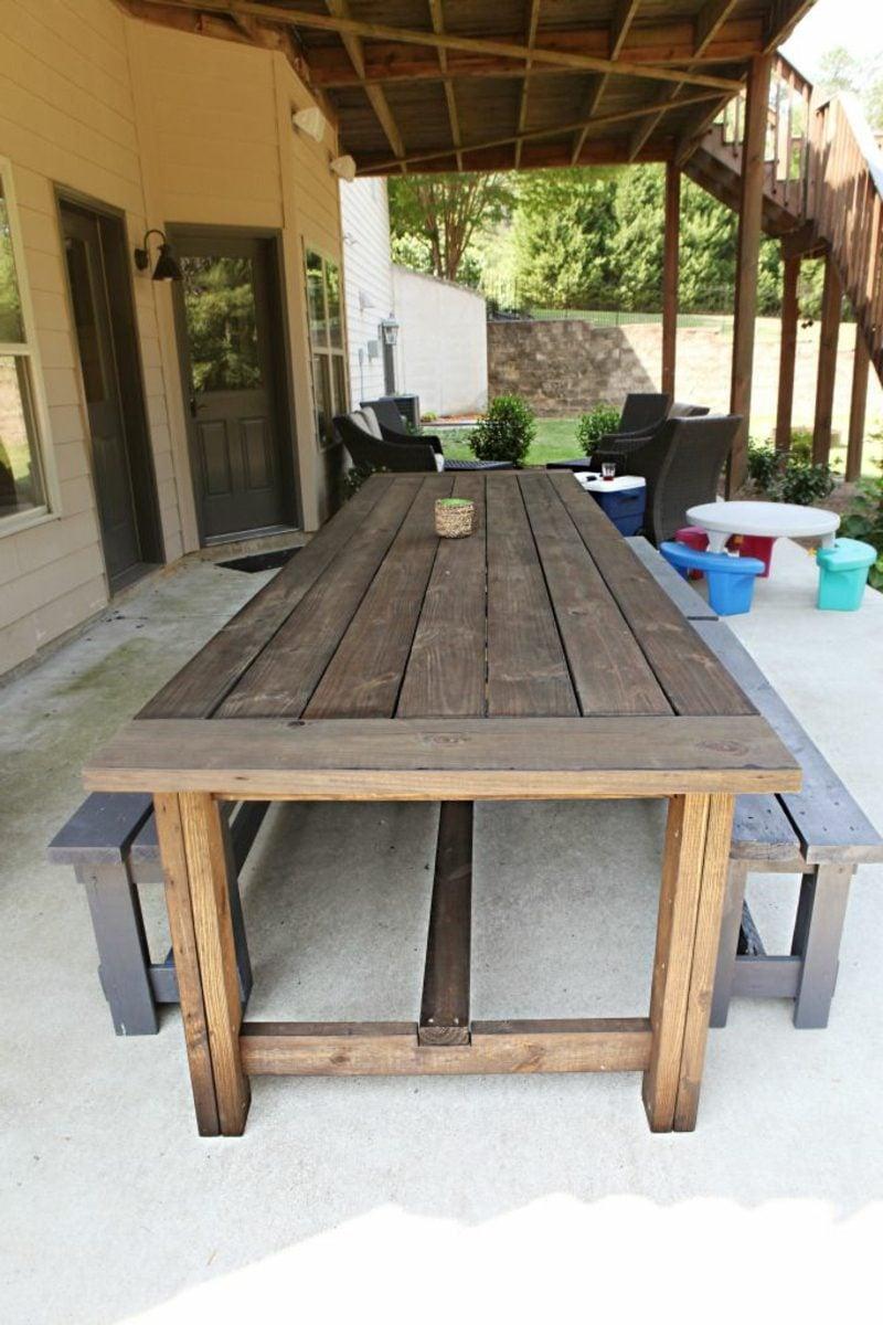 Gartentisch selber bauen anleitung diy garten haus for Teichanlage selber bauen