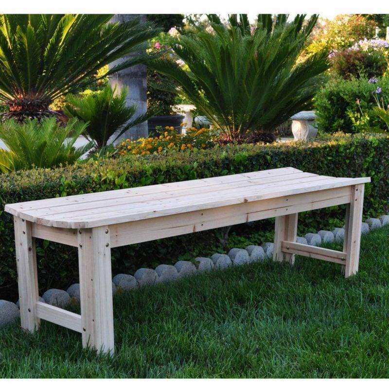 gartentisch selber bauen garden bench