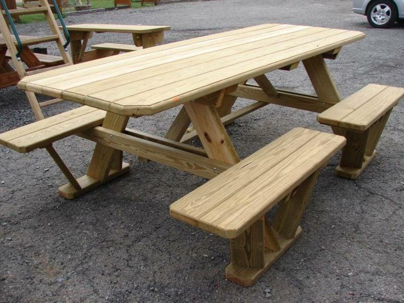 gartentisch selber bauen wooden picnic tables