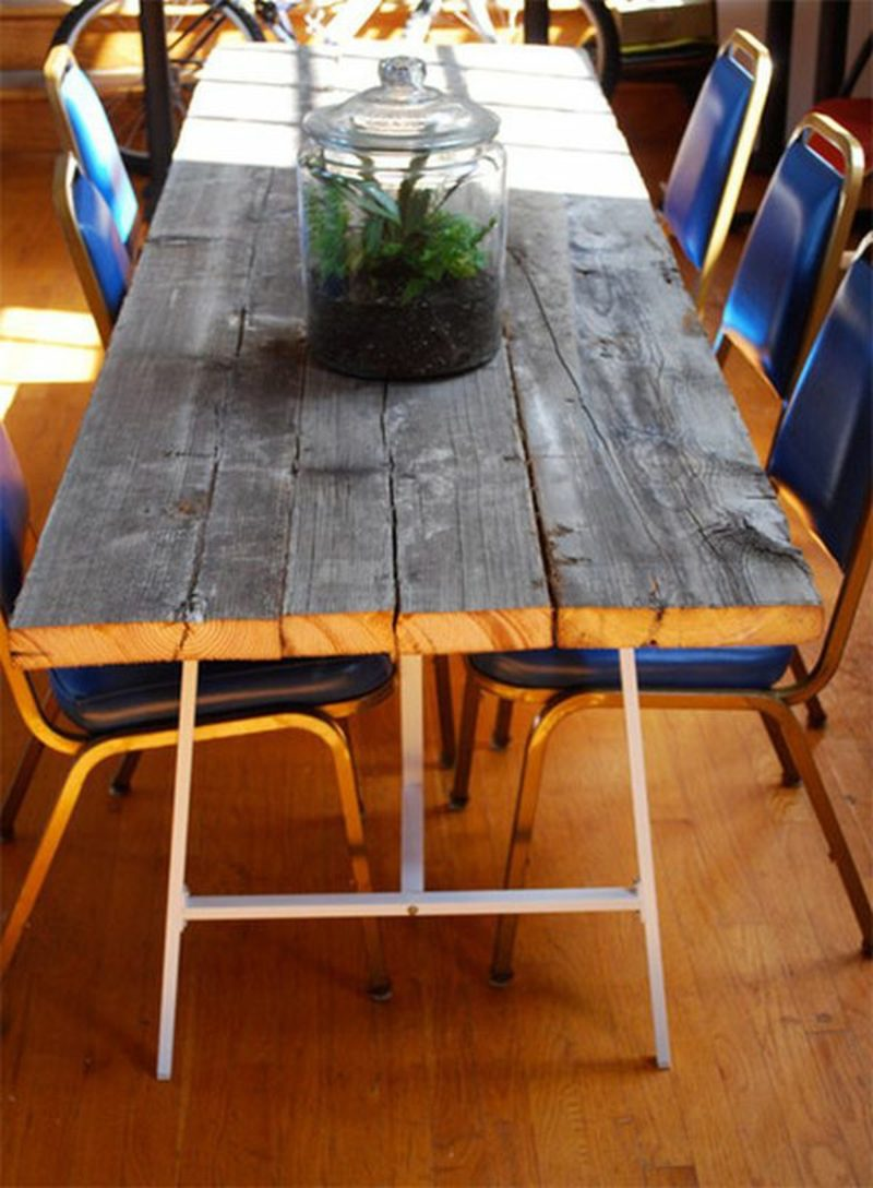 gartentisch selber bauen wood table