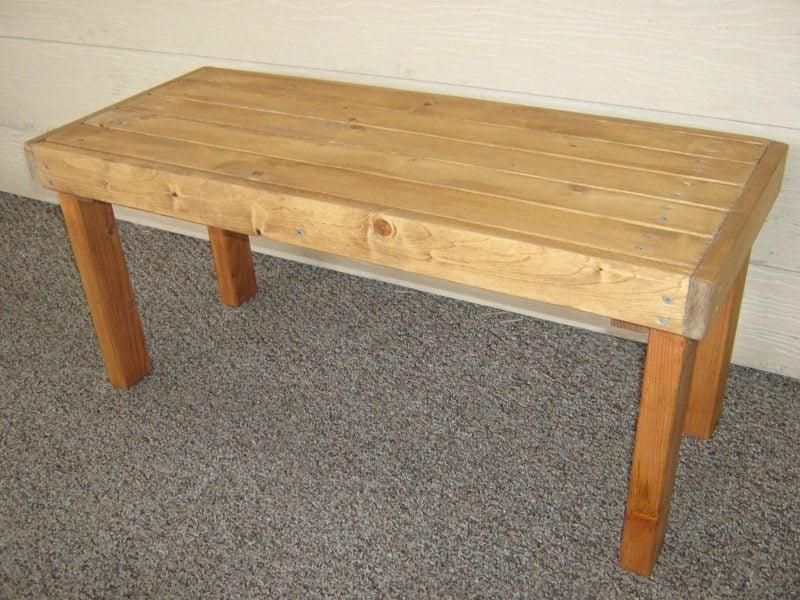 gartentisch selber bauen simple outdoor wood furniture