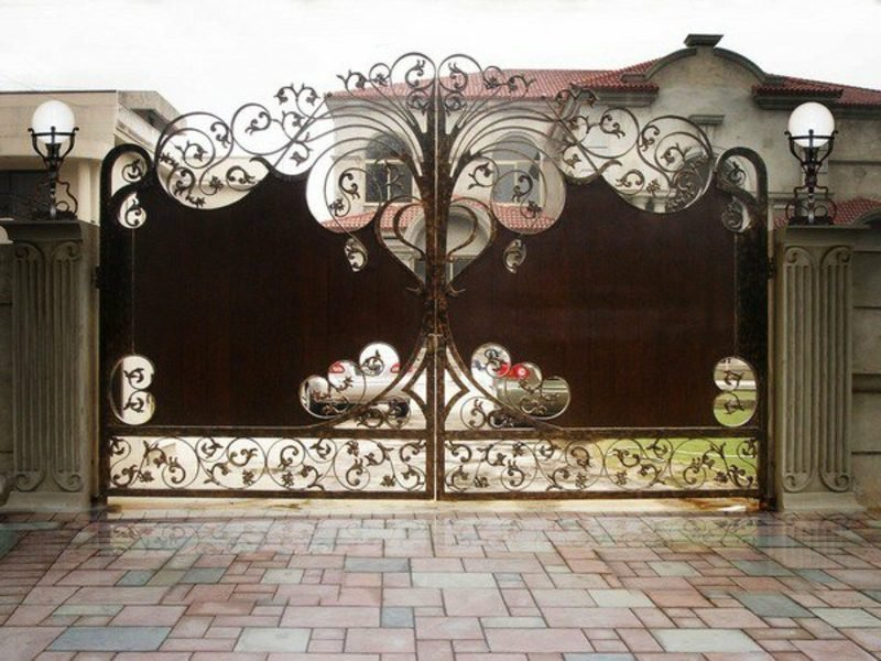 gartentor metall gates wrought