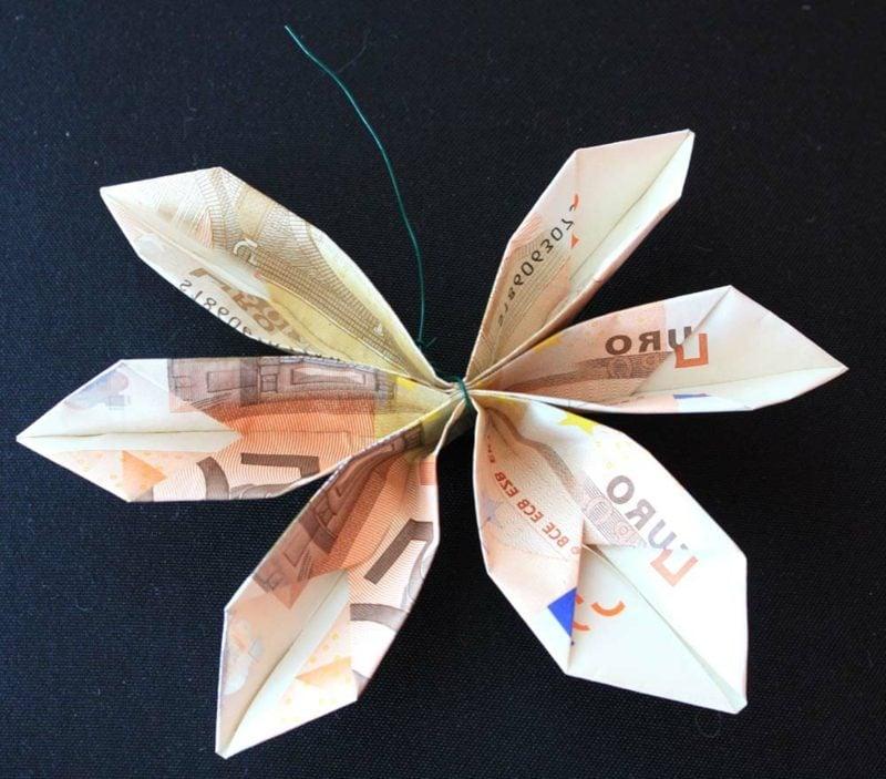 Geldschein Blume Ideen und Inspirationen