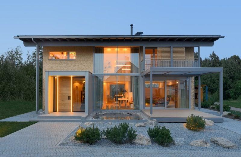Glas als Fassadenverkleidung