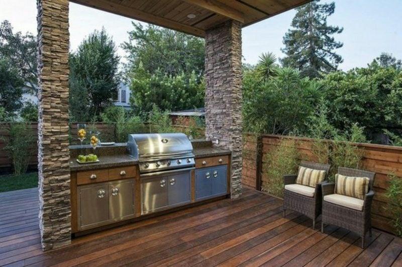 Grill modern Terrasse