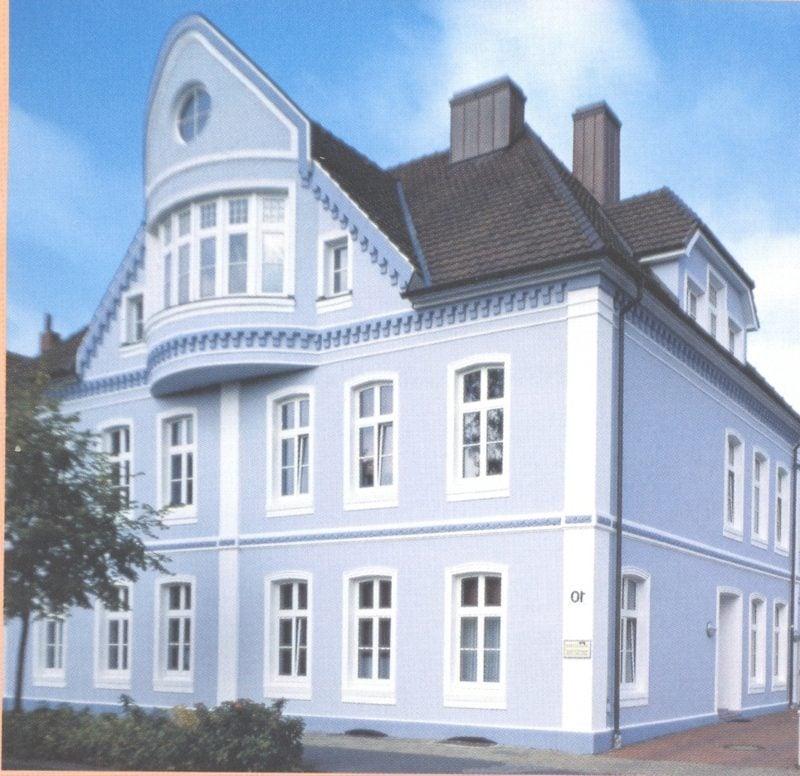 Hausfassade In Pastellnuancen