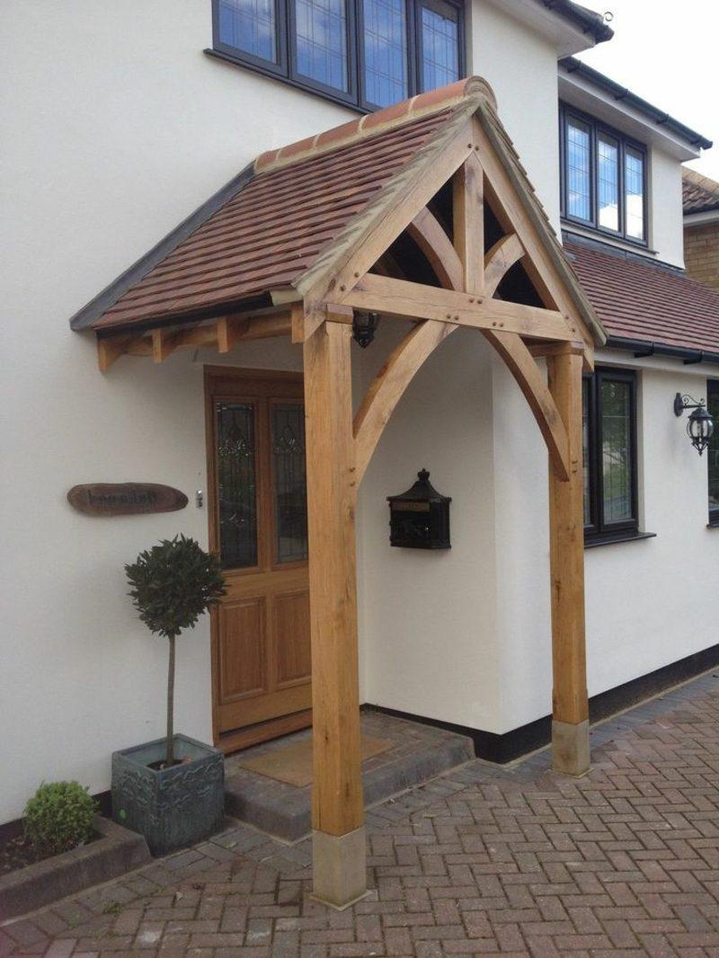 Wie wird eine Haustürüberdachung gebaut - Fenster & Türen, Haus ...