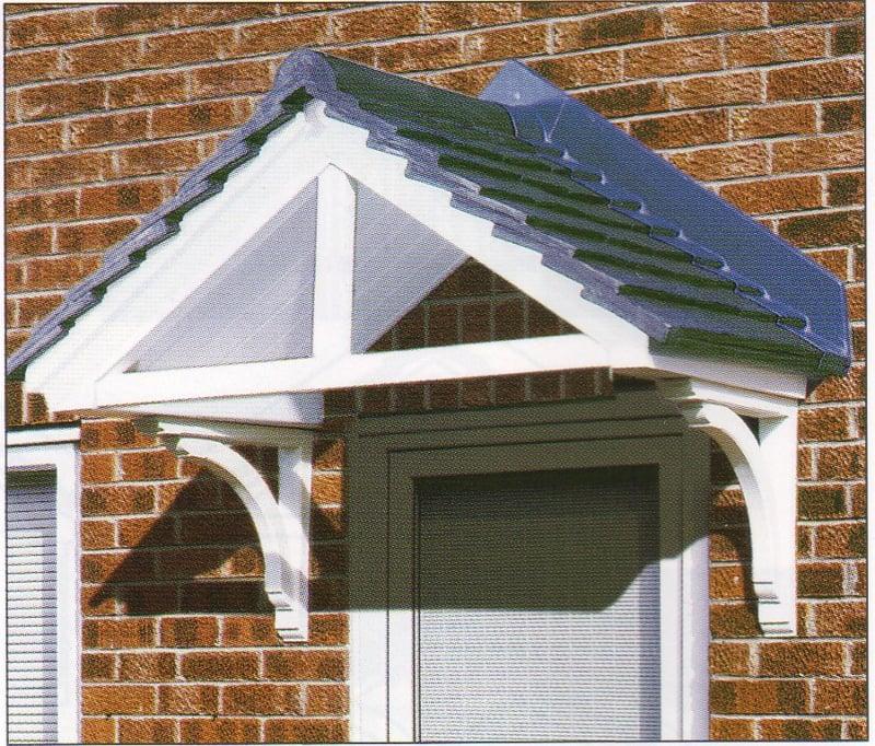 Wie Wird Eine Haustürüberdachung Gebaut