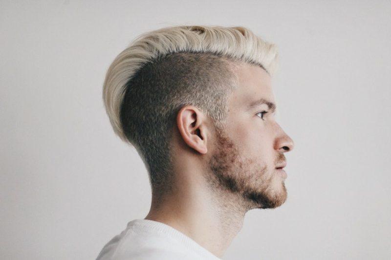 trendige Herrenfrisuren für 2015 kurze Haare Fade Frisur