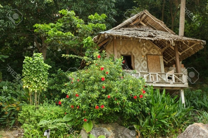 holzbungalow thailand