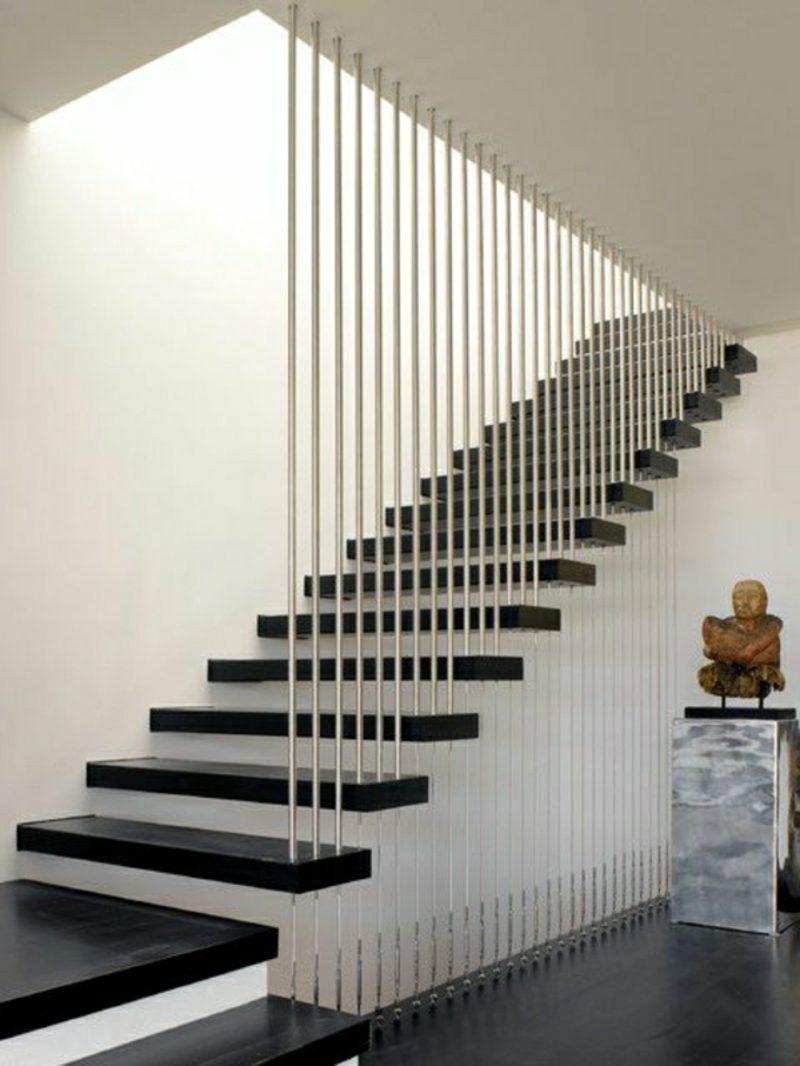 holztreppe schwebende moderne treppe