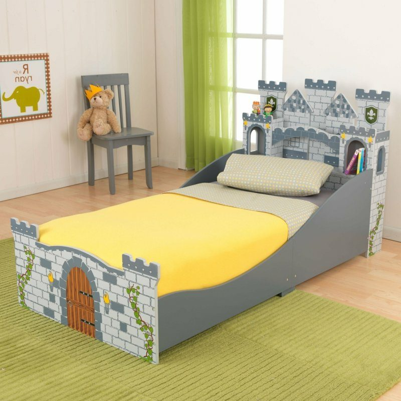 mitwachsendes Kinderbett Schloss