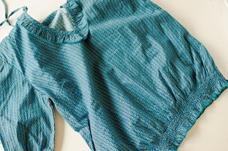 Bluse im Blau Kinderkleidung