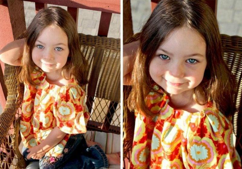interessante Bluse Kinderkleidung nähen