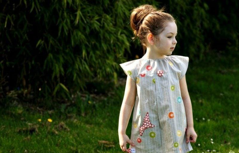 originelle Tunika Kinderkleidung nähen