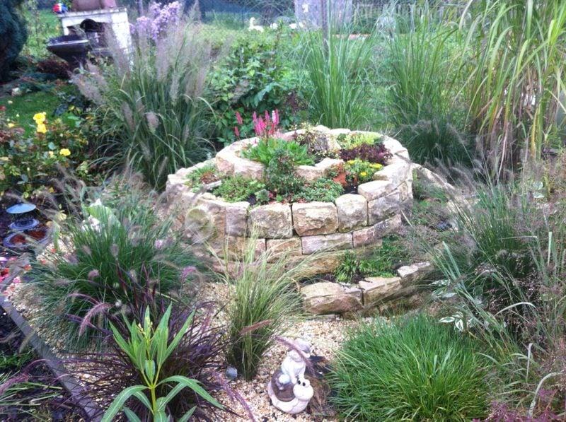 Kräuterspirale Gartengestaltung Ideen und Inspirationen