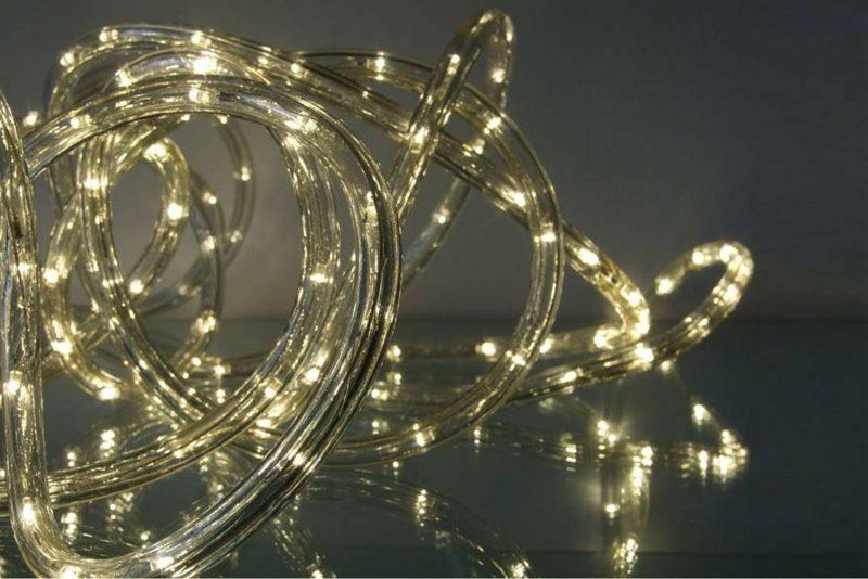 indirekte Beleuchtung selber bauen LED-Lichtschlauch