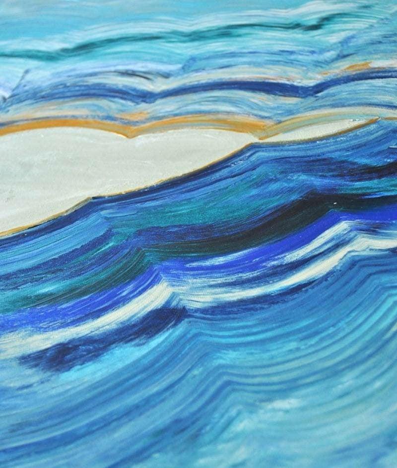 Leinwand malen Meer