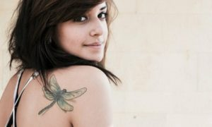 originelle Tattoomotive Libelle Tattoo