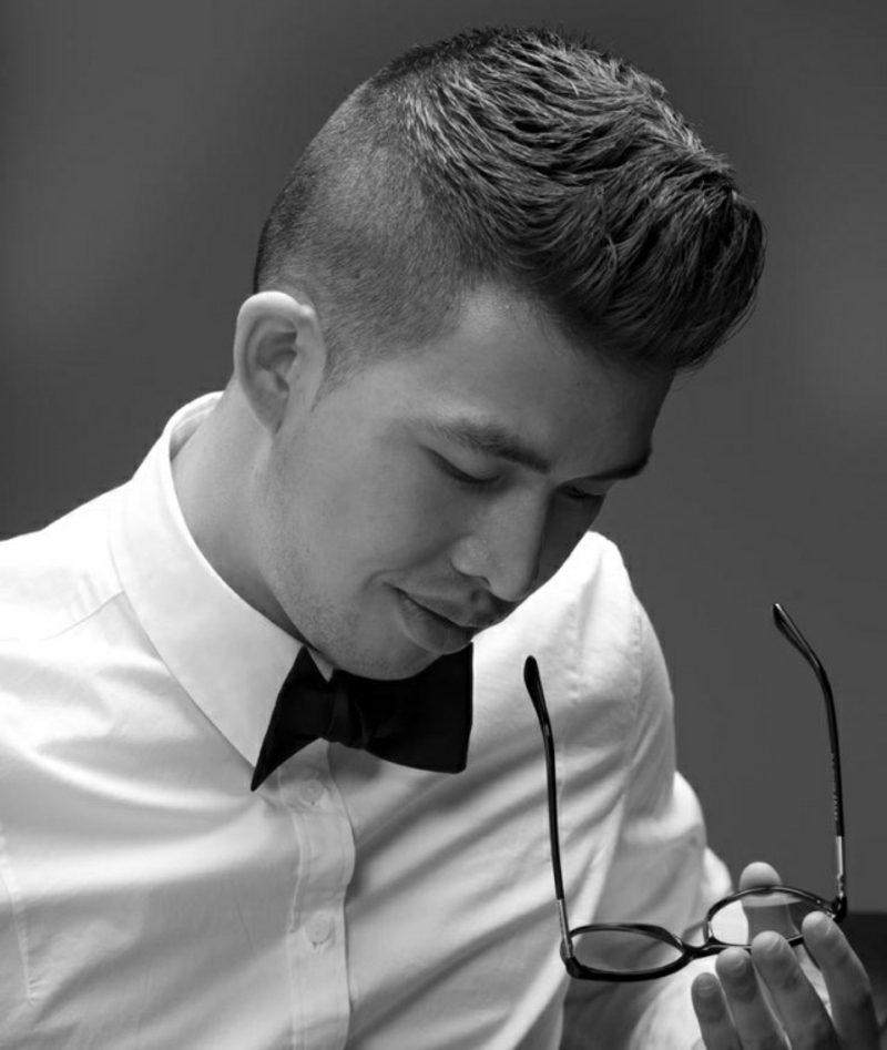Trendfrisuren 2015 für Männer Fade Frisur