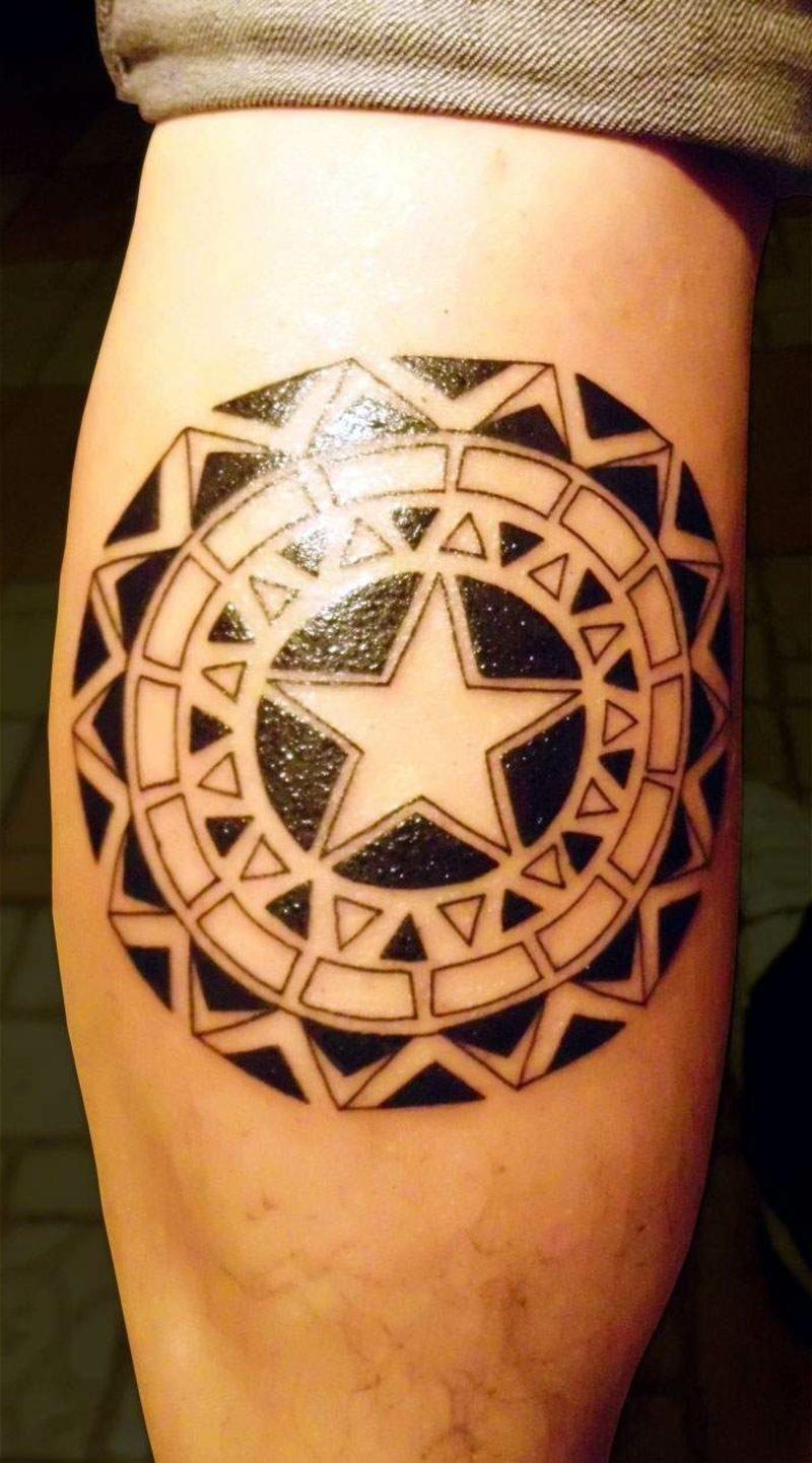 Tattoomotive für Frauen Stern