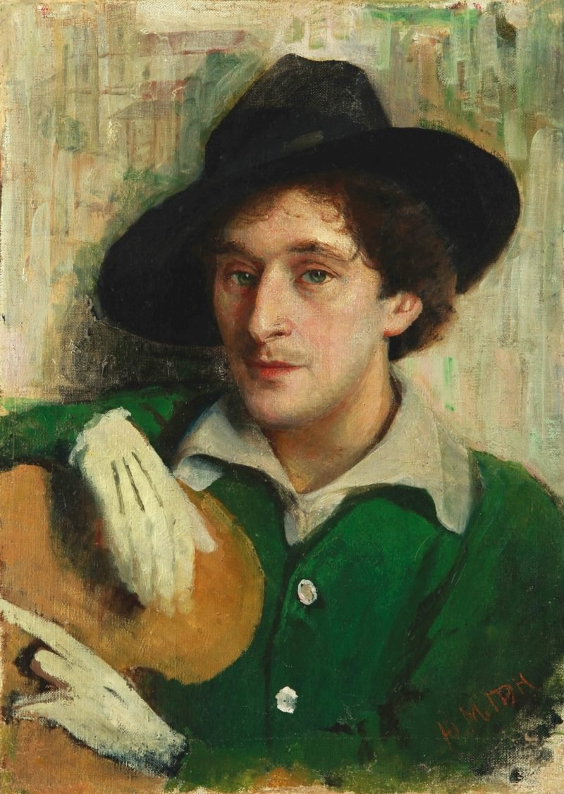 marc chagall yury pen portrait