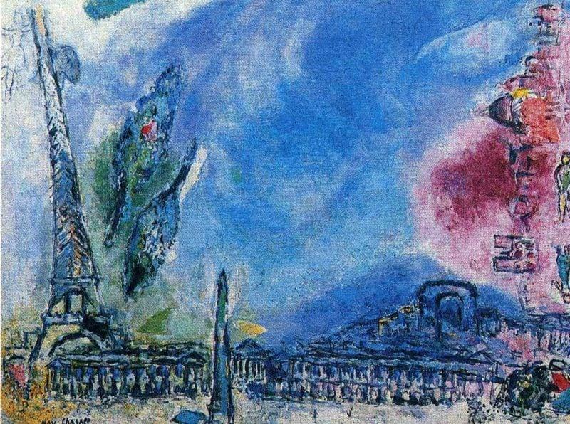 Marc Chagall Werke Paris