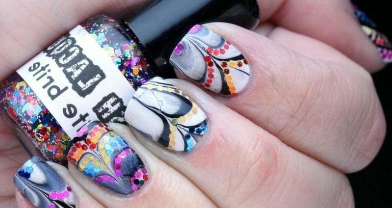 kunstvolles Fingernägel Design