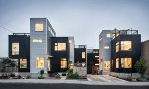 Hausfassaden aus Metall
