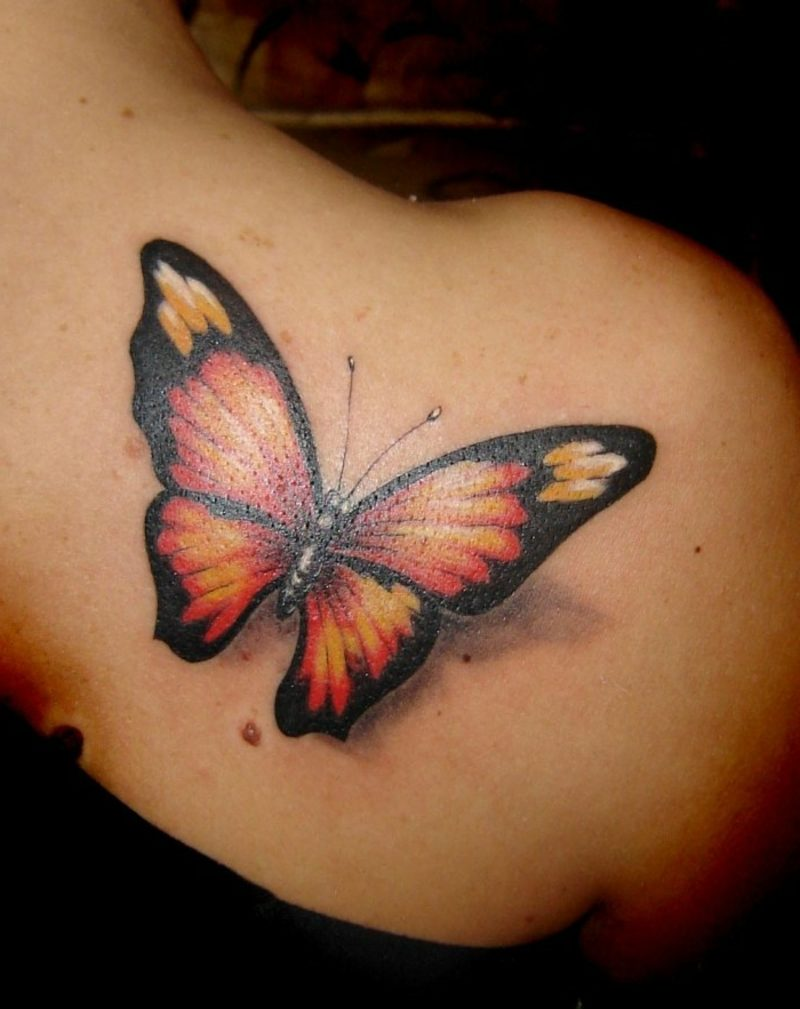 Tattoo Monarchfalter