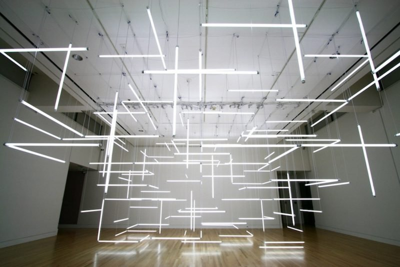Neonröhren DIY indirekte Beleuchtung