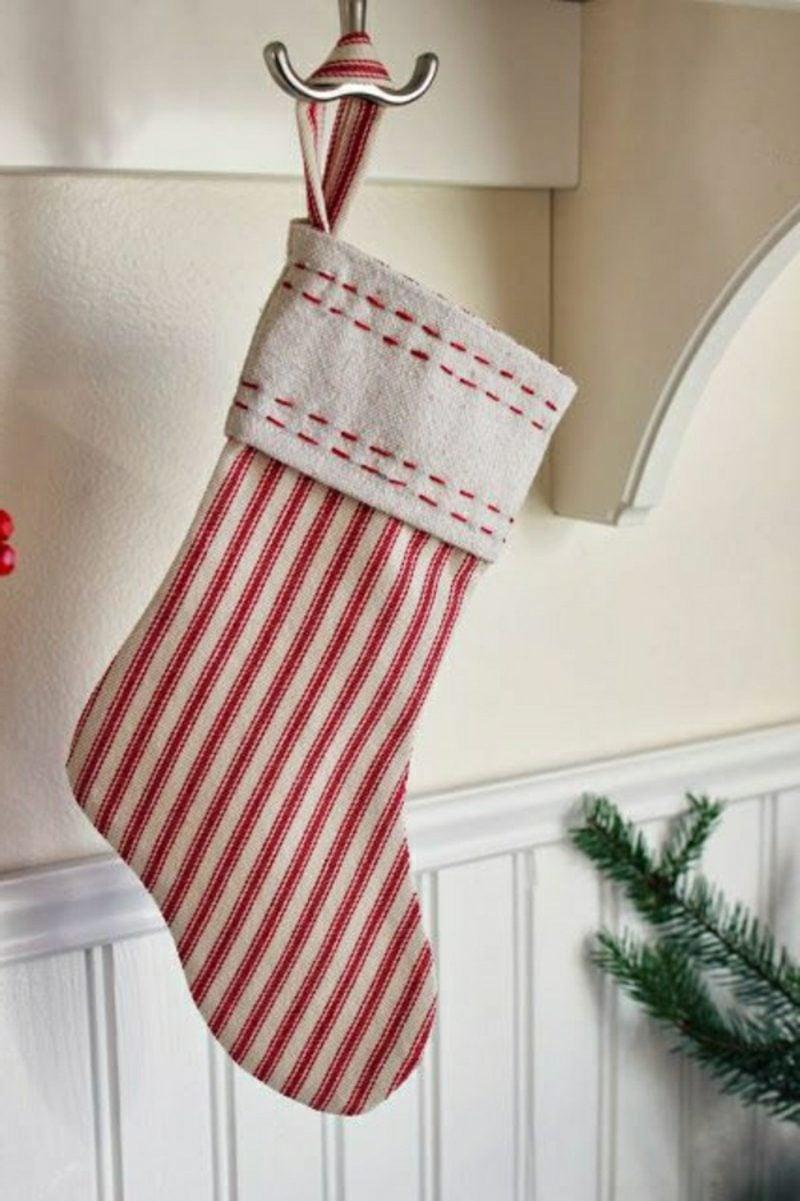Nikolausstiefel n hen vorfreude auf weihnachten diy weihnachtsdeko ideen zenideen - Weihnachtsdeko nahen ...