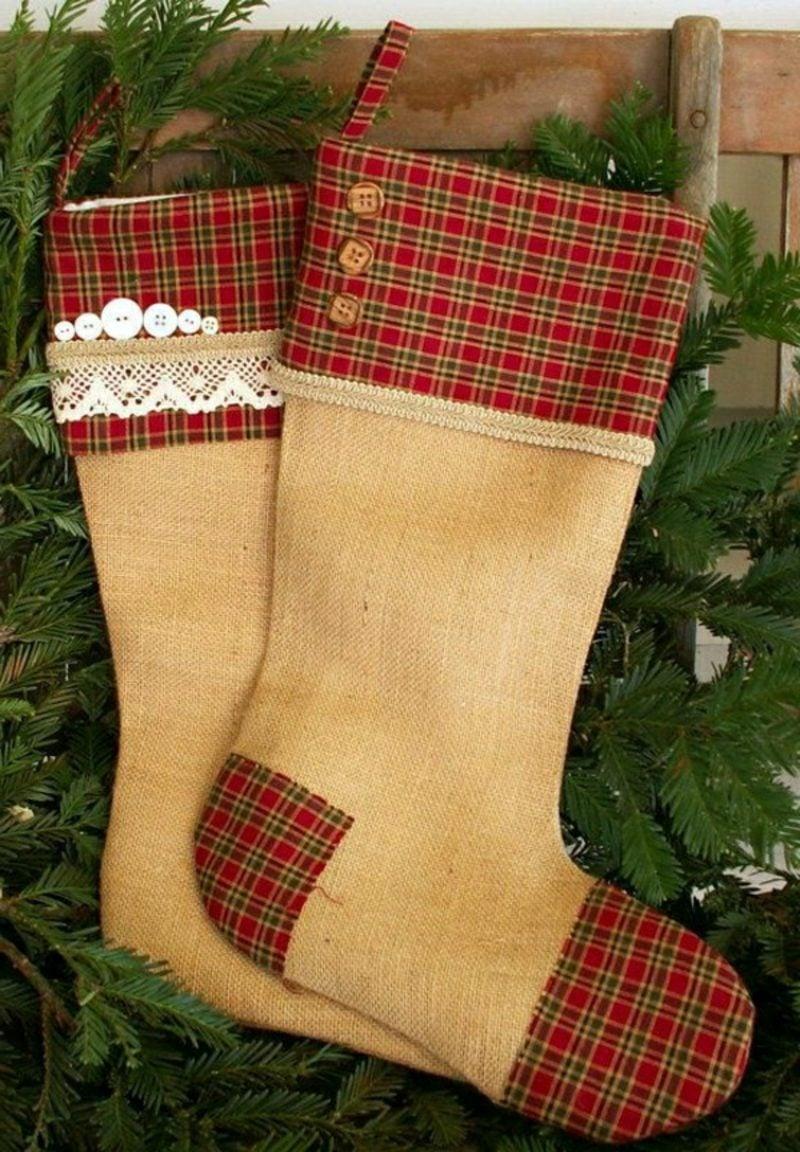 Nikolausstiefel nähen weihnachtsbasteln