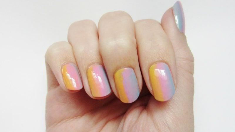Ombre Fingernägel