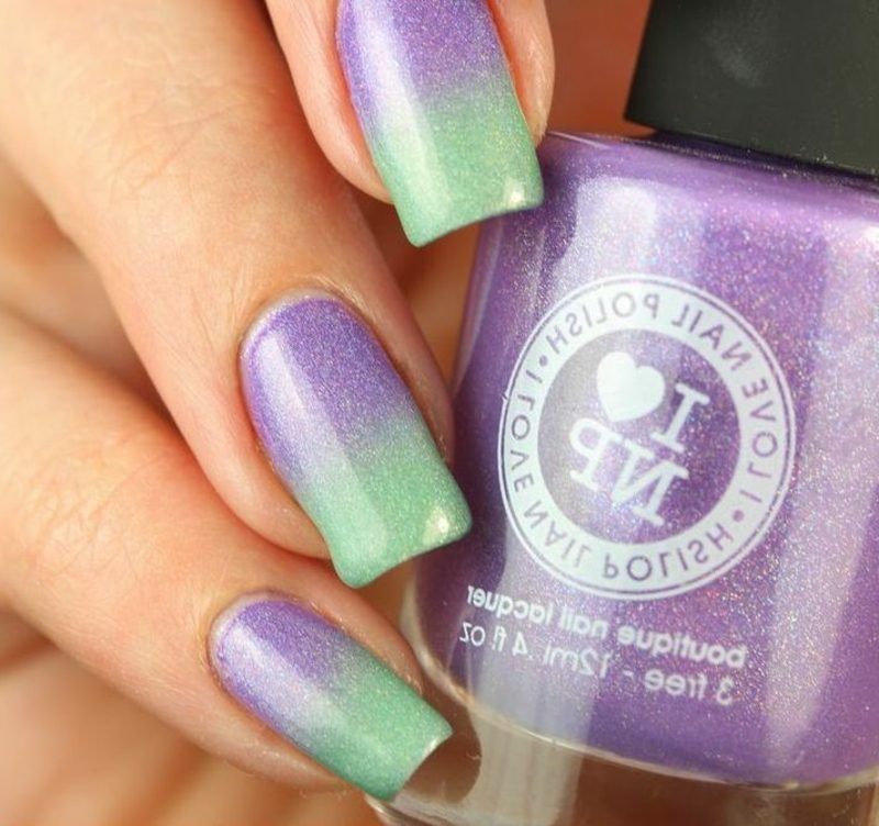 Ombre Fingernägel atemberaubende Farbgestaltung