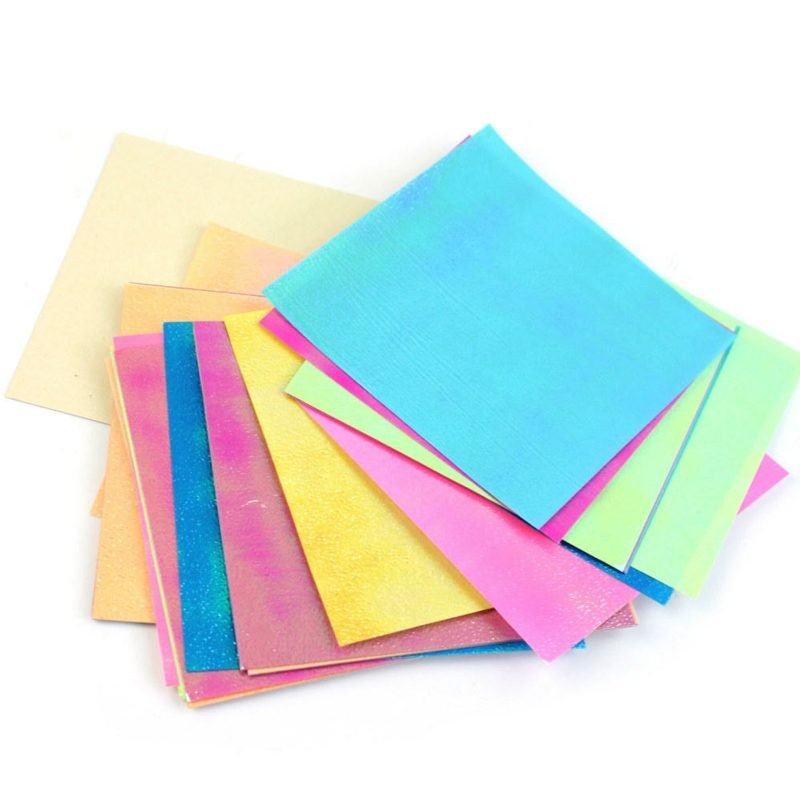 origami rose anleitung sheets colorful