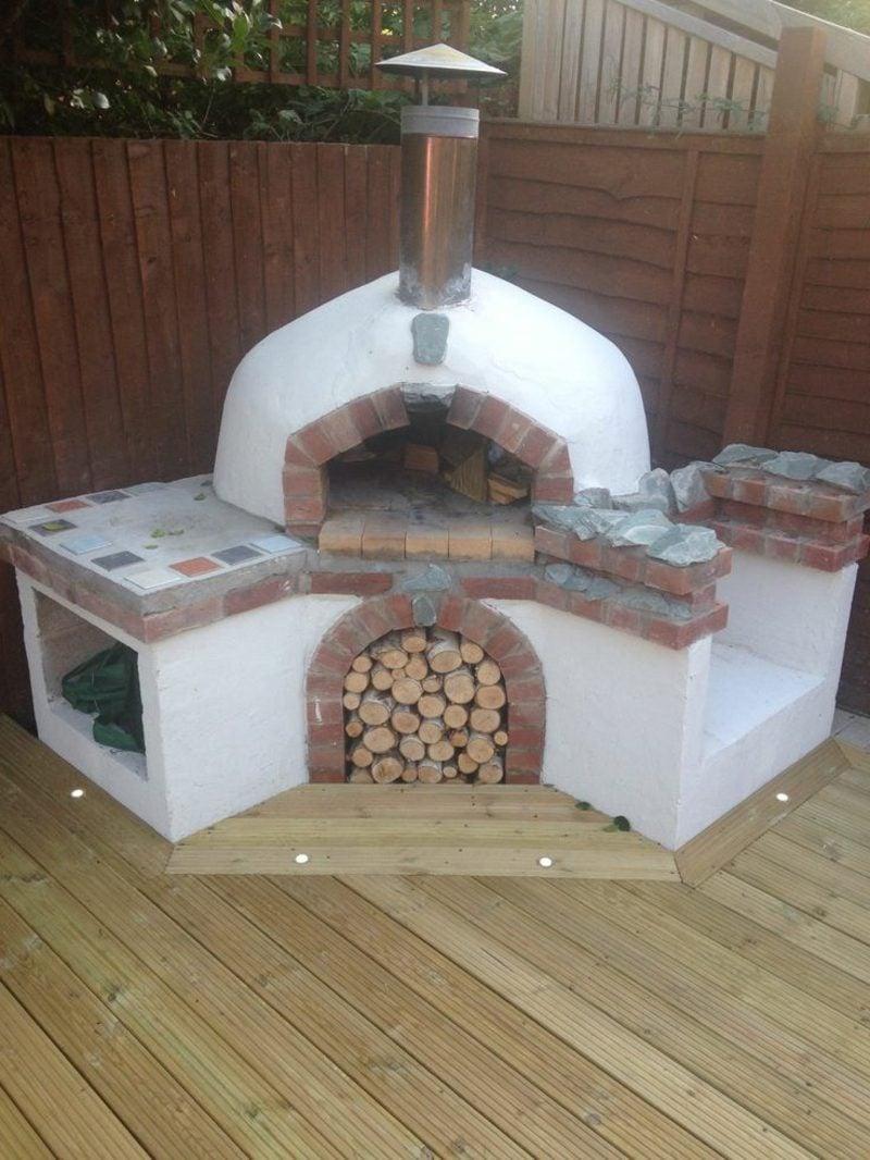 pizzaofen bauen anleitung und fotos diy garten haus. Black Bedroom Furniture Sets. Home Design Ideas