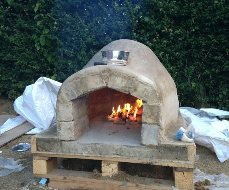 pizzaofen bauen