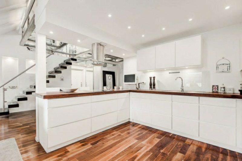 skandinavisch wohnen penthousewohnung kuche