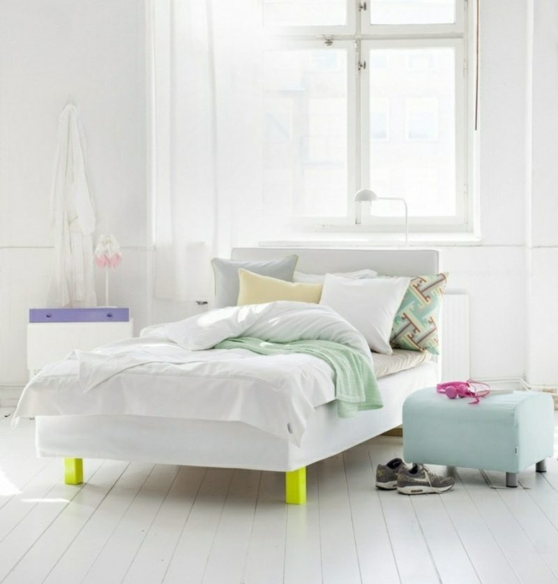 skandinavisch wohnen schlafzimmer