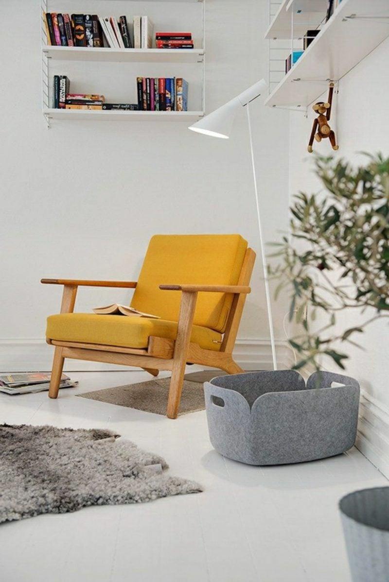 skandinavisch wohnen gelb