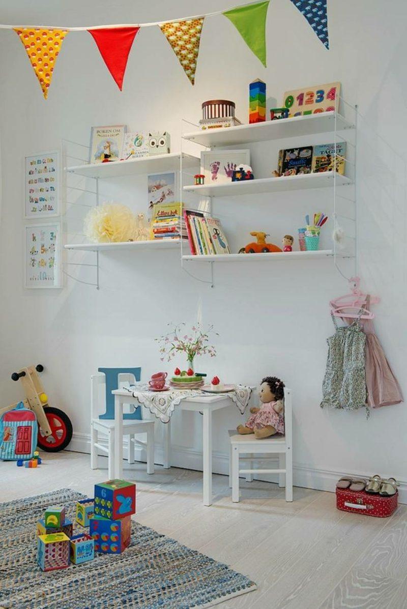 skandinavisch wohnen kinderzimmer