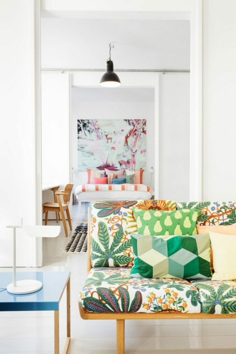 skandinavisch wohnen 50 schicke ideen innendesign m bel. Black Bedroom Furniture Sets. Home Design Ideas