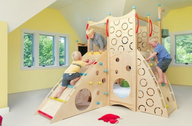 mitwachsendes Kinderbett modernes Design